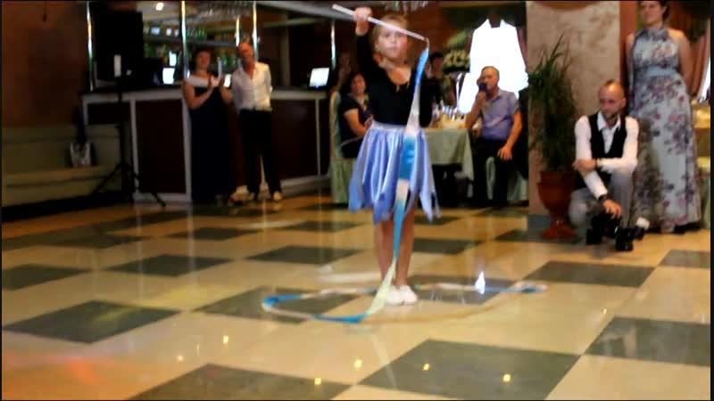 Егорова Варвара с танцем с лентой Atylantos, Rachel Portman La Diosa Fredda, Bel Ami
