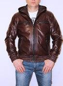 Куртки Кожаные Мужские С Капюшоном