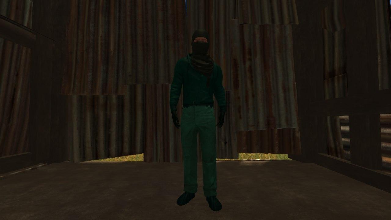 Так выглядит полный комплект Radiation Suit (Радиационная Костюм) на персонаже
