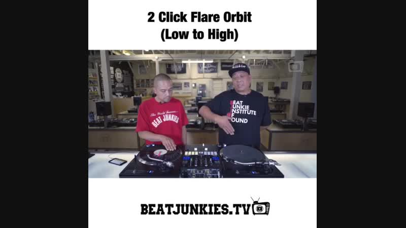2 Click Flare (Low to High) D-Style DJ Babu