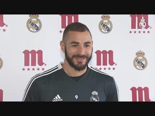 Benzema, Jugador Cinco Estrellas Mahou de noviembre