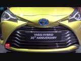 2019 Toyota Yaris Hybrid 20-th Anniversary - Exterior And Interior Walkaround - 2018 Paris