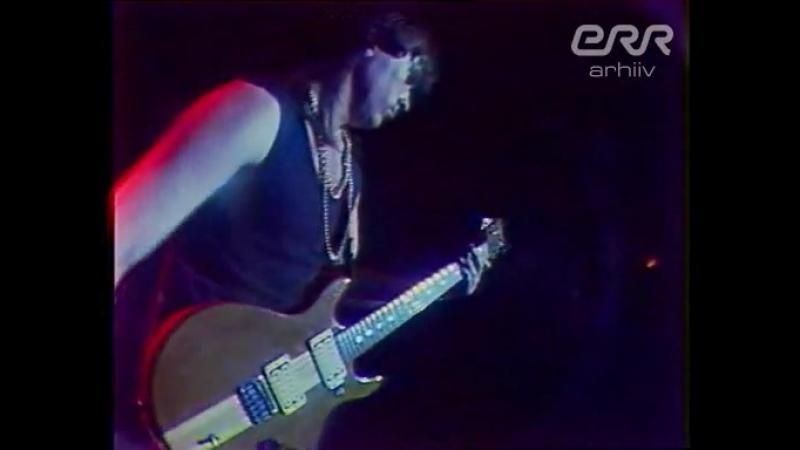 Tartu levimuusikapäevad- Gunnar Grapsi Grupp (19.09.1987)