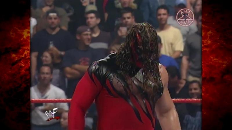 Kane Chokeslams Undertaker To the Ring 08.14.2000