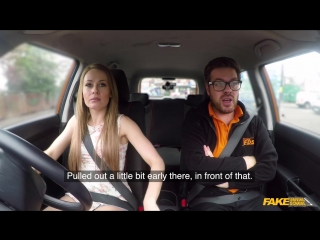 Fakedrivingschool carmel anderson sticky facial climax ends lesson new porn 2018
