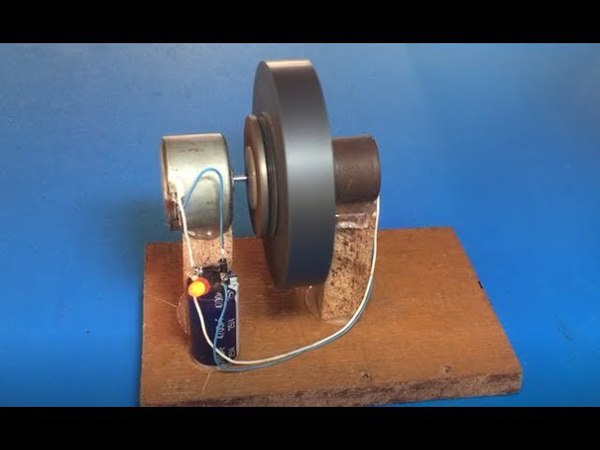 Free energy 100% Free energy self running machine science school project for 2018