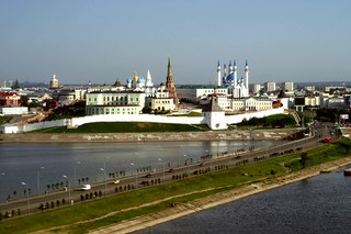 Реклама в регионах - Центр Казани очищается от брэндмауэров.