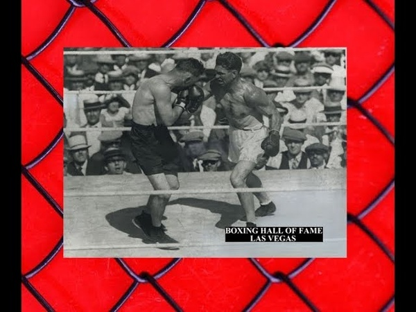 Jack Dempsey Beats Tommy Gibbons Retains Heavyweight Crown - July 4, 1923