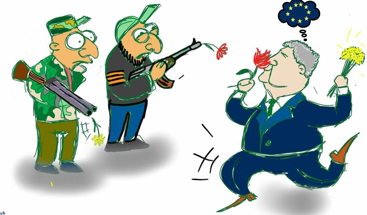 Решение по новым санкциям против РФ будет принято после доклада Порошенко, - Меркель - Цензор.НЕТ 8109