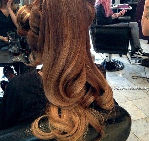 Светлые коричневые волосы фото