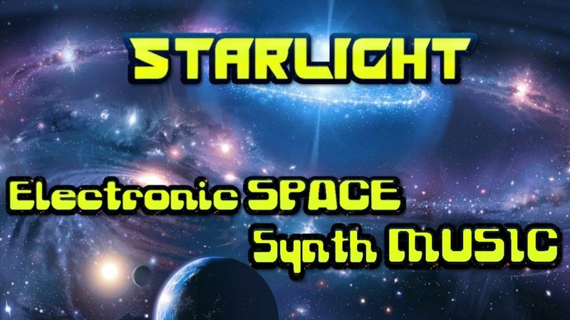 Starlight. Electronic space synth music