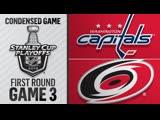 Washington Capitals vs Carolina Hurricanes R1, Gm3 apr 15, 2019 HIGHLIGHTS HD