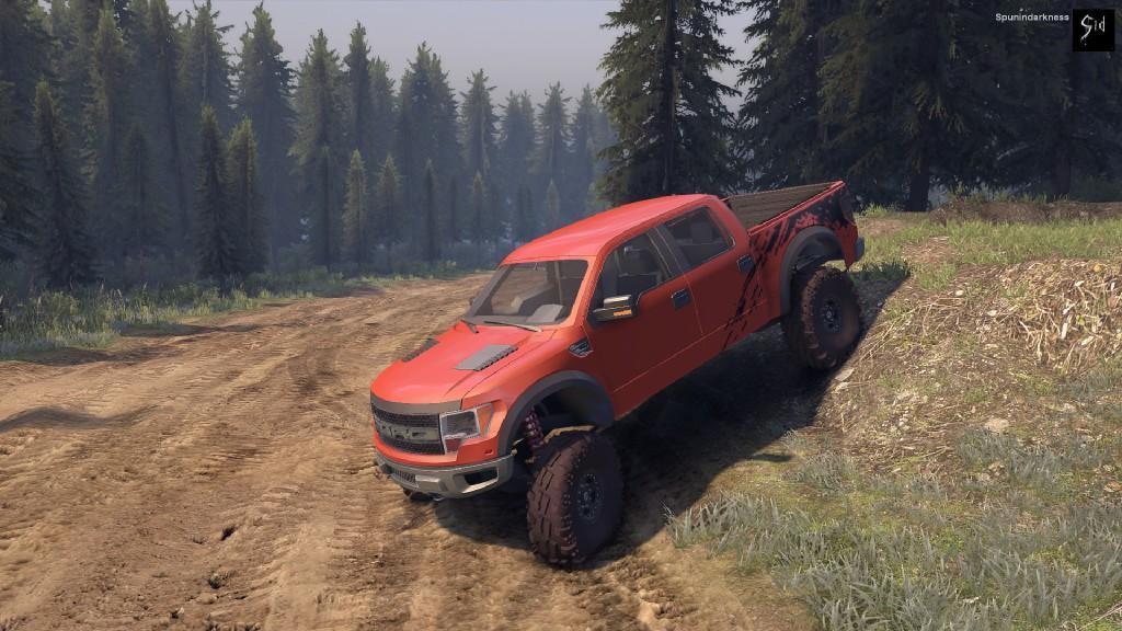 Ford Raptor SVT для Spintires - Скриншот 1