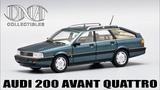 Audi 200 Avant Quattro 20V DNA Collectibles Обзор масштабной модели 143 от нового производителя