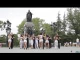 Kizomba Internationl FlashMob. Simferopol