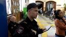 Работа полиции на вокзале Великого Новгорода. 26 сентября 2017.