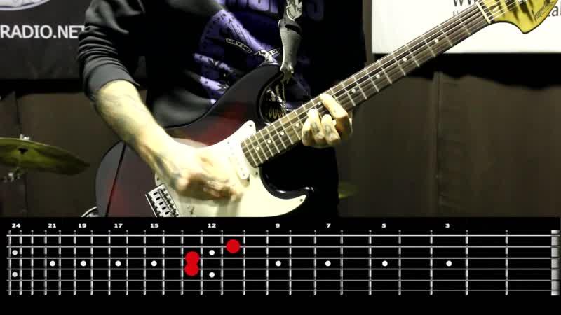 Sasha Rock'n'Roll guitar lessons - The Damned (New Rose) видео урок №28 tutorial