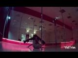 танцы в Чебоксарах, студия дайкири pole dance exotic Розова настя