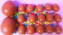 MM's Skittles Surprise Eggs ! Opening BIG Kinder Surprise Egg HUGE JUMBO Mystery Chocolate Egg