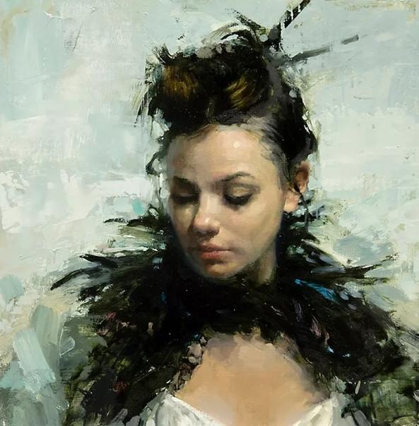 Знакомимся с очередным современным художником из Америки, Джереми Манном