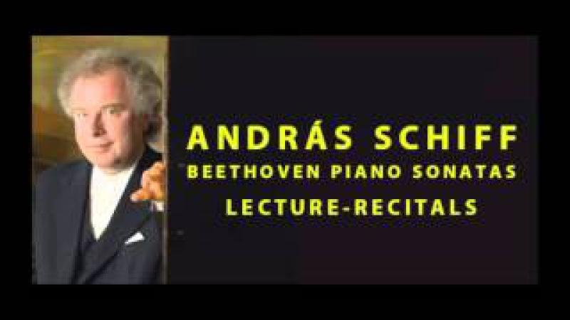Бетxовен, Сон. №13 E-Dur Op. 27, No. 1. Лекция А. Шиффа. Beethoven Piano Sonata No. 13 in E-flat major, Op. 27, No. 1 'Quasi una