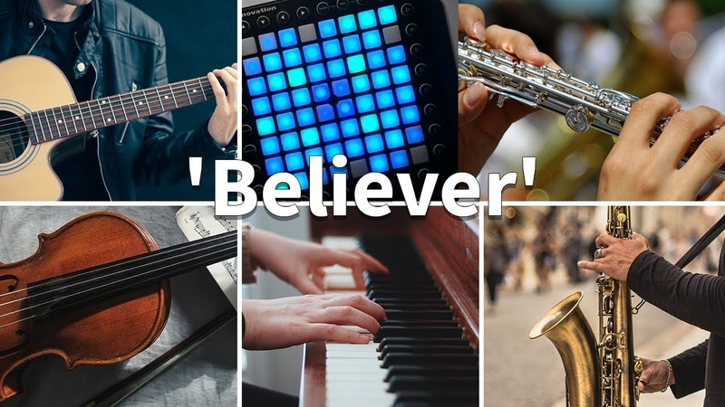 Who Played It Better: Believer (Launchpad, Piano, Guitar, Violin, Flute, Saxophone)