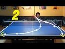 Best Table Tennis Serves Tutorial. (Pt 2: reverse pendulum, tomahawk) TOMORROW TABLE TENNIS