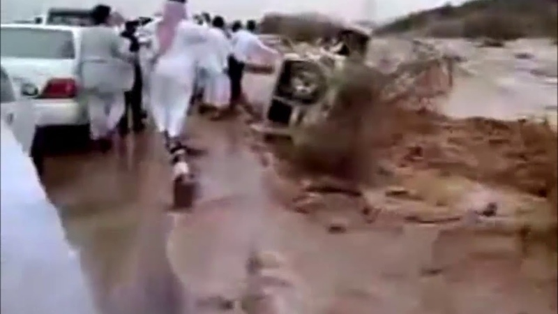 Saudi Arabia Cities Like Madinah Affected By Heavy Rains, Floods Severe Weather in 2018