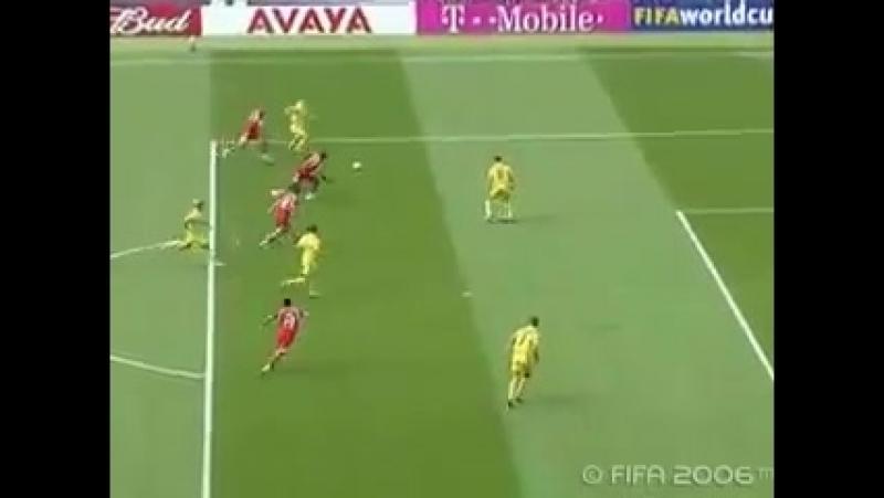 Україна 1-0 Туніс. ЧС-2006. Пенальті Шеви