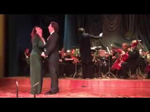Дуэт Дмитрия Корчака и Вероники Джиоевой