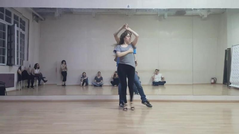 Демо Анна Вит и Андрей Коротаев | Demo after class Anna Vit Andrey Korotaev | Ipanema Dance Studio