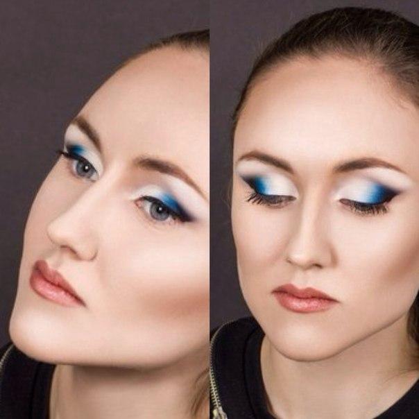 Визажист вечерний макияж услуги