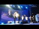 FANCAM 14.09.18 Chan (Ride With Me + Black Heart) @ UNB on KT