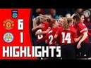 Manchester United 6-1 Leicester City - Match highlights - Championship 12th March 2019