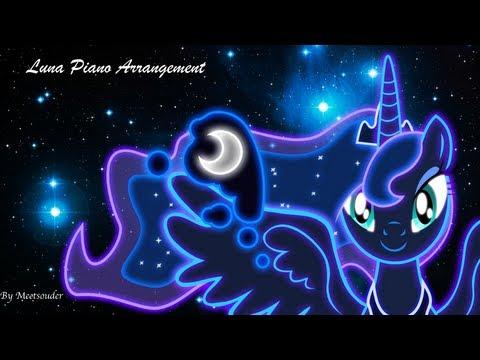 Eurobeat Brony's Luna. Piano Arrangement (With