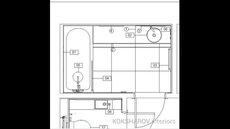 KOKSHAROV interiors детальное проектирование