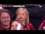 1xBet: Реакция маленькой девочки на шайбу Коннолли