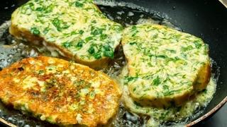 Отличное начало нового дня! Горячие бутерброды - сытный и вкусный калорийный завтрак.   Appetitno.TV