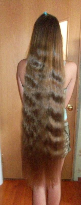 Очень длинная коса 6 фотография