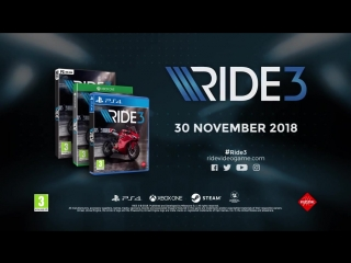 Ride 3 [PS4_XOne_PC] The Motorcycle Encyclopedia Trailer