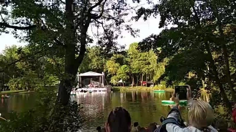 Эвелина Врублевская - Live Джаз на воде. ЦПКиО им. Кирова