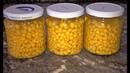 Кукуруза на зиму 2 способа Кукуруза консервированная в банках и заморозка