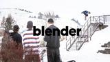 adidas Snowboarding /// blender