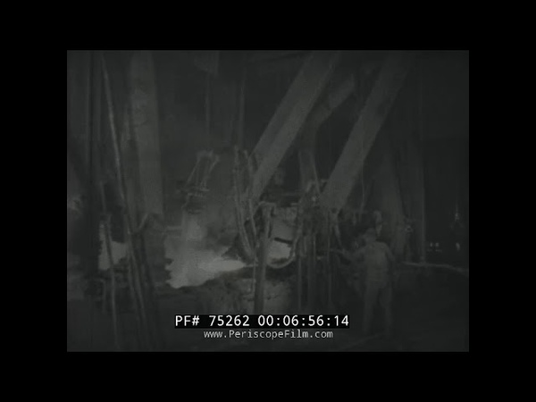 PRODUCTION OF CALCIUM CARBIDE 1930s GERMAN EDUCATIONAL FILM 75262