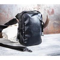 40d482b1f076 BAG452-1 Мужской рюкзак черного цвета с одной лямкой