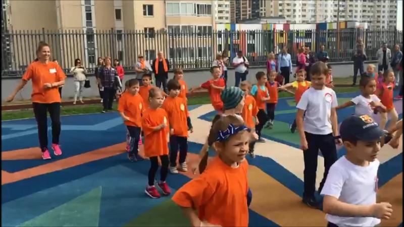 Фестиваль дошкольников Осенний марафон ГБОУ Школа 2065 Д5 Д2