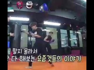 Can we talk abt their arms_ Especially Mingyu's __) Kyaknya SVT Club minggu depa ( 675 X 750 ).mp4