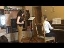 В Базельцева Пьеса для скрипки и фортепиано №1