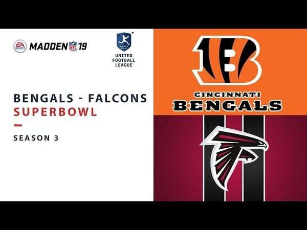 UFL Superbowl | Bengals vs Falcons