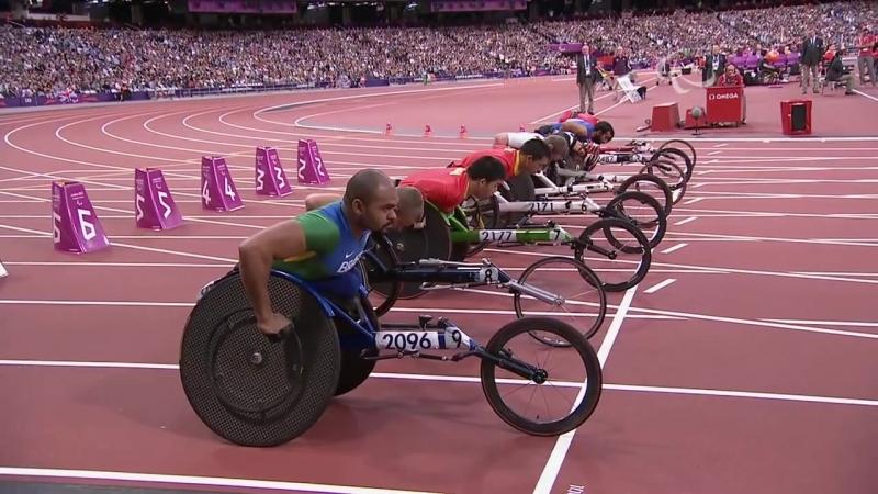 Athletics Men's 100m T53 Final London 2012 Paralympic Games